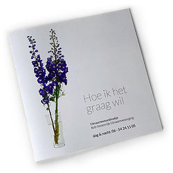 Boekje 'Hoe ik het graag wil'